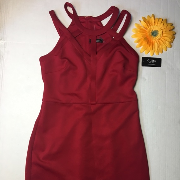 guess los angles Dresses & Skirts - Red Guess Dress